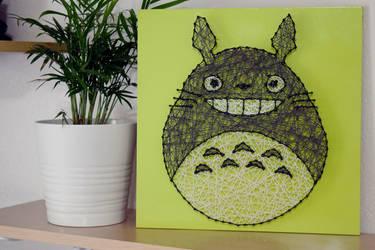 Totoro String Art