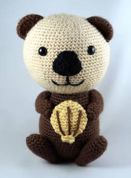 Crocheted Sea Otter
