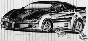 Plymouth Cuda Concept 1