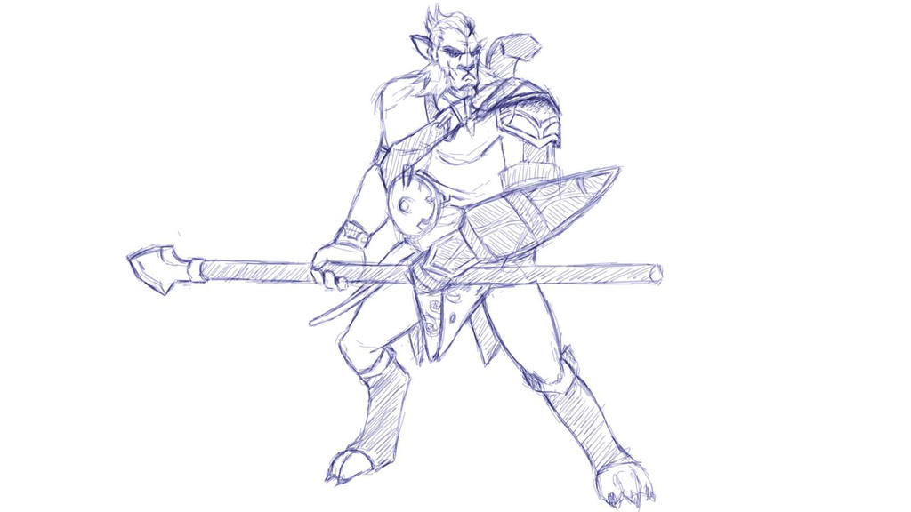 dota 2 phantom lancer sketch by pachaplox on deviantart