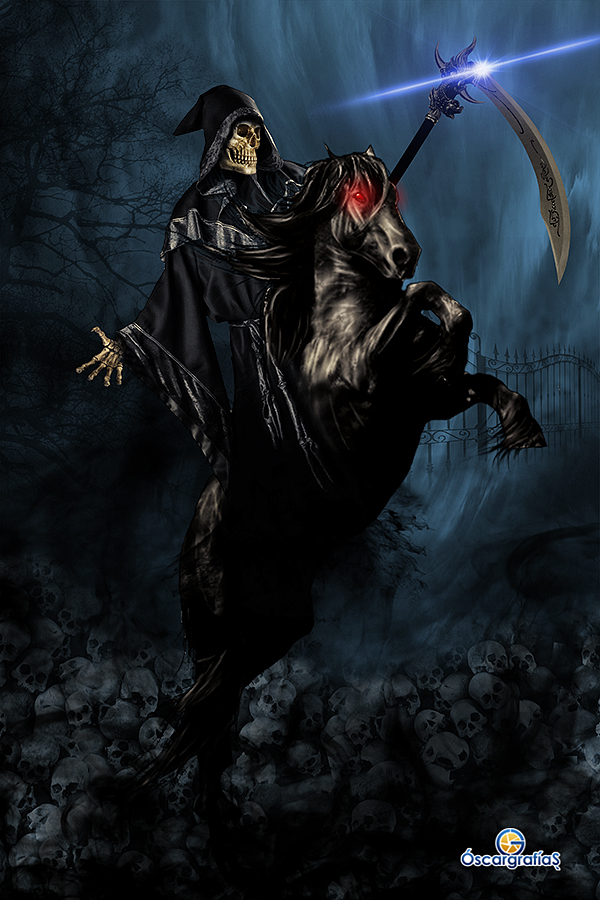 Grim Reaper by oscargrafias