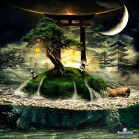 Kame Island by oscargrafias