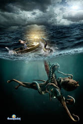 El Kraken by oscargrafias
