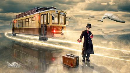 Heaven Express by oscargrafias