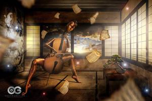 Amaterasu by oscargrafias