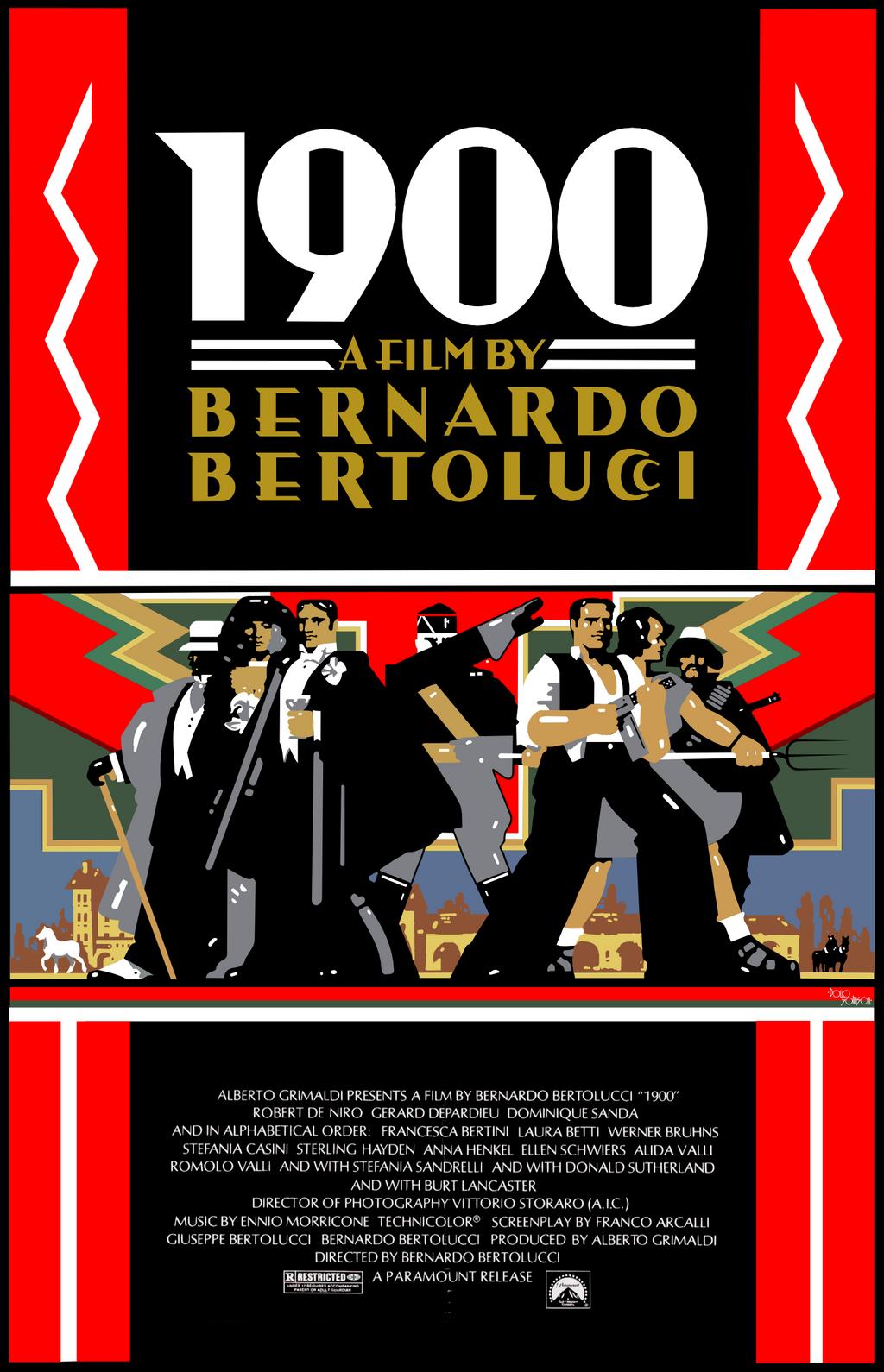 Poster design 1900 - Novecento 1900 Poster By Darnnerdeel Novecento 1900 Poster By Darnnerdeel