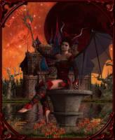 Blood Moon Fairy by IncyVortex