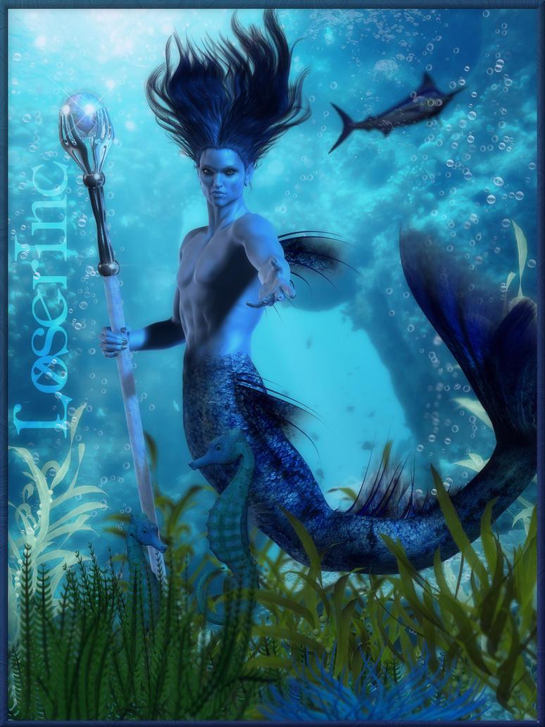 Tene'Bris - Mer Prince by IncyVortex