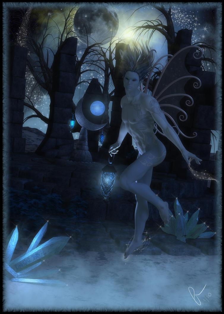 Misty Blue by IncyVortex