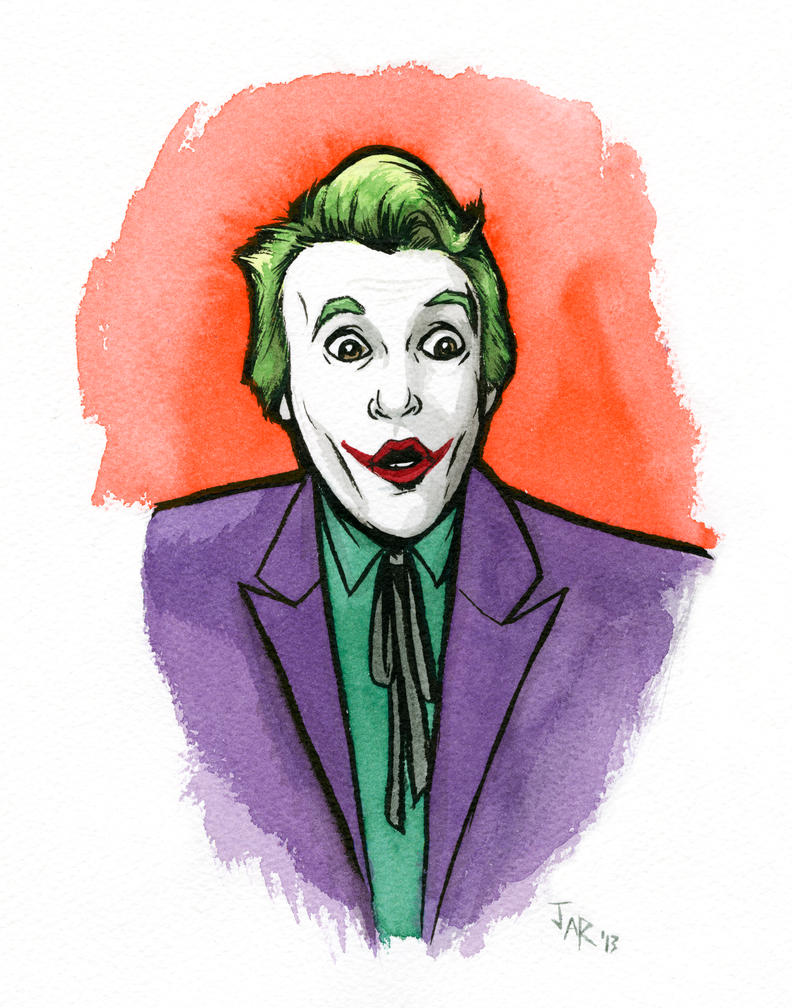 Joker from Batman TV Show by JarOfComics