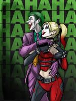 Joker and Harley by JarOfComics