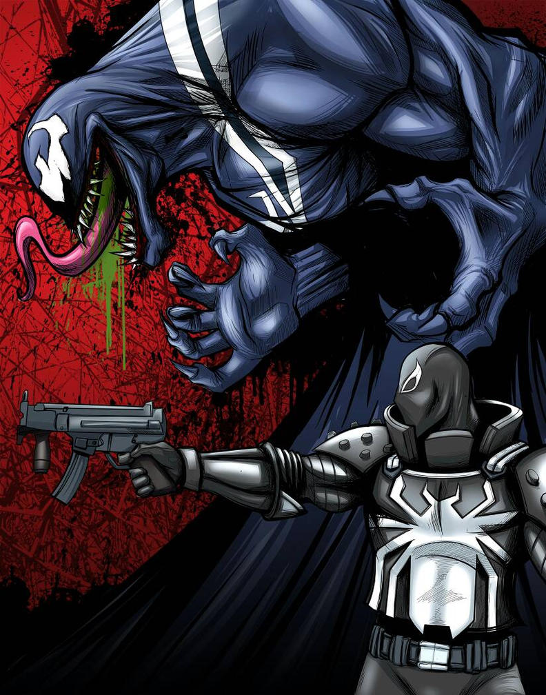 Venom  Agent Venom by JarOfComics