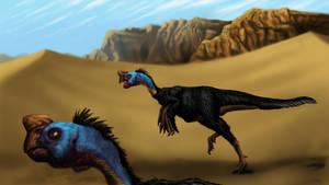 Oviraptorids in the Desert