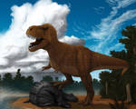 Tyrannosaurus rex for Dinosaur State Park, CT