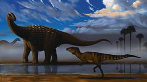 Diamantinasaurus and Australovenator