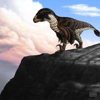 Dakotaraptor steini by MicrocosmicEcology