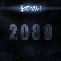 Oviraptor Space Program - 2089 Track Art by MicrocosmicEcology