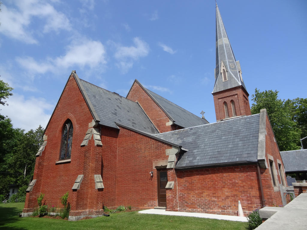 Second View of St. George's Anglican Church by evans96911