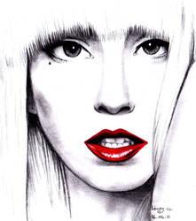 Lady Gaga by Laaury