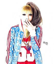 CL 2NE1 by Laaury