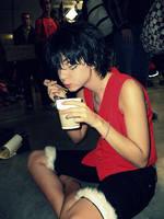 Luffy- Eating as always. by CharmingYuuta