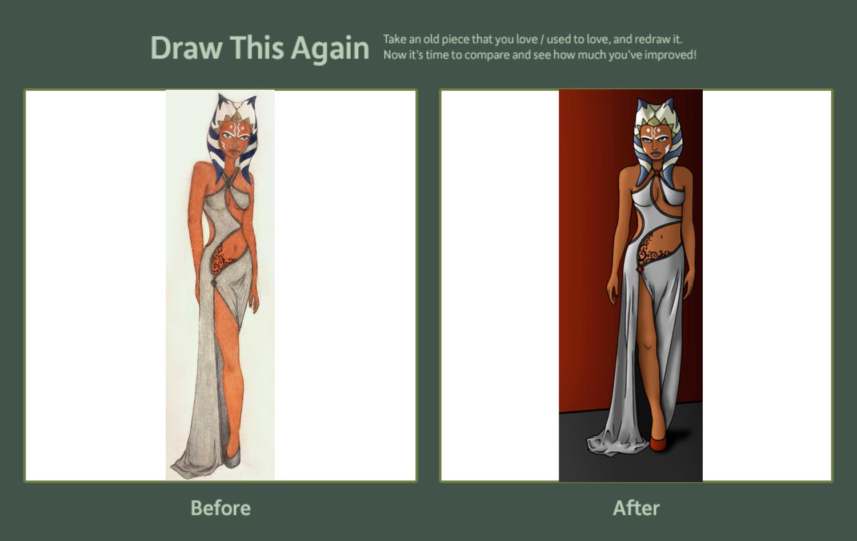 Draw This Again: Ahsoka by Bones333