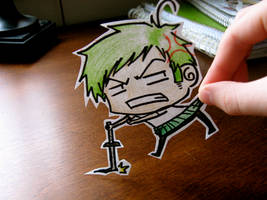 Roronoa Zoro by Bubble-Gum-Gir