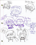 TTGL_ Stupid School scribbles
