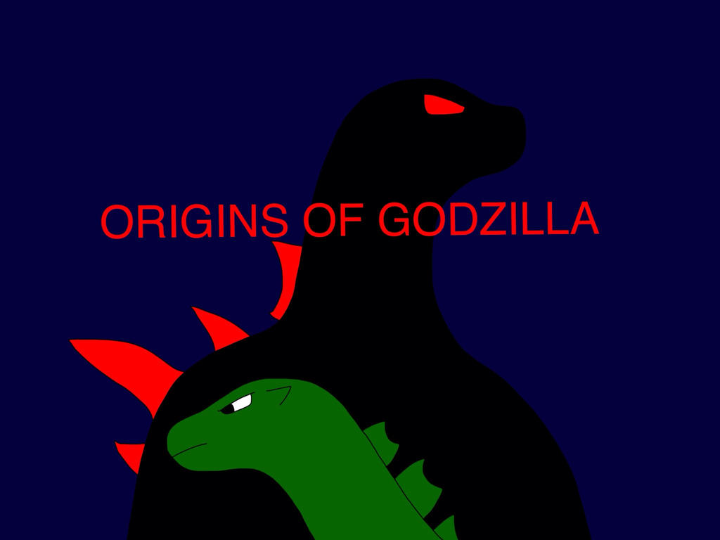ORIGINS OF GODZILLA by Mega-Gojira