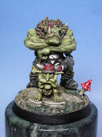 Orc Warboss by numbat