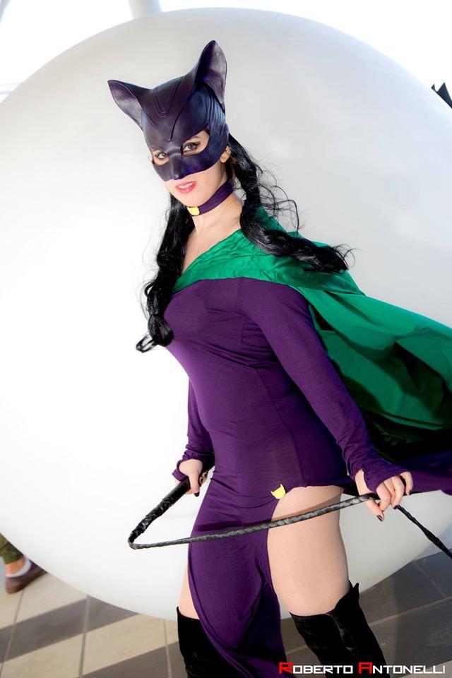 Catwoman dress cosplay by HeritageOfTheWolf