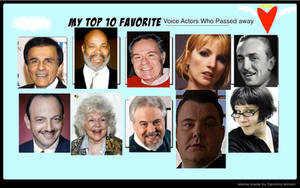 Top 10 VA who passed away (Done)