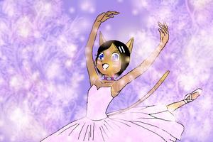 Janet the dancing princess by PrettyShadowj28