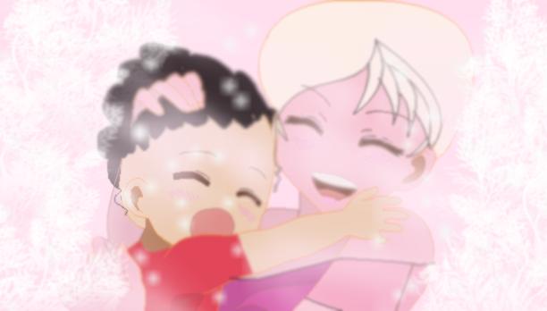 Steven and Pink Diamond by PrettyShadowj28