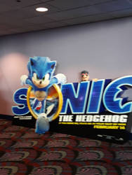 New and approved Sonic movie design board