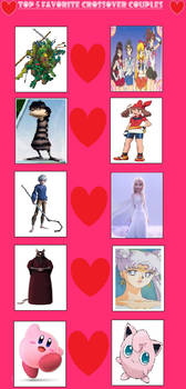 My Top 5 Crossover Couples