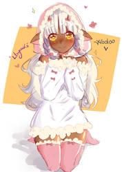 Wooloo Gijinka by liliryuuka