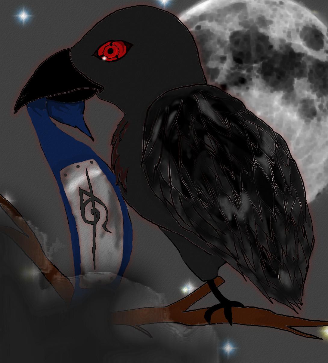 Itachi's Crow by AnbuGirl26 on DeviantArt