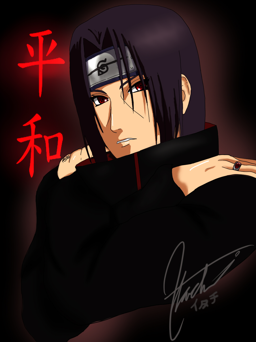 Try-Out: Itachi by AnbuGirl26