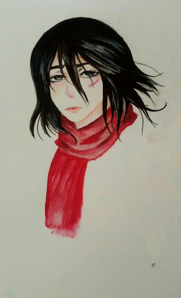 Mikasa  by Adrianisawaffle