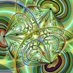Mandala of the Wings of Aurora by akkamaddi