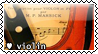 Violin Stamp by violetcolor
