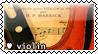 Violin Stamp by violetcolor