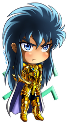 Chibi Aquarius Camus by GueparddeFeu