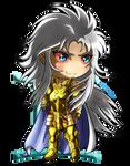 Chibi Gemini Saga (evil)