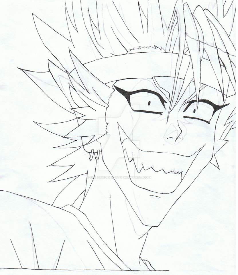 Youichi Hiruma sketch 2 by GueparddeFeu