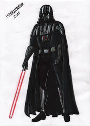 COMMISSION FOR ALAZAIS-DENCAVEL - Darth Vader by GueparddeFeu