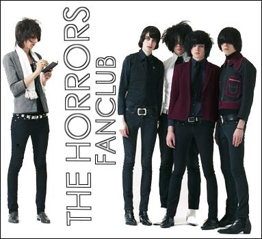 The horrors fan club by thehorrorsfanclub