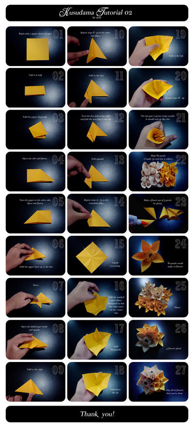 Kusudama Tutorial 02 by oyah