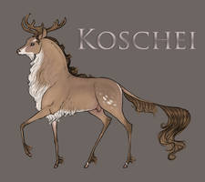 Koschei | Stag | Herd Member by SilveringOak